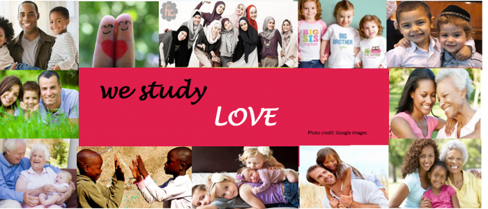 we study love